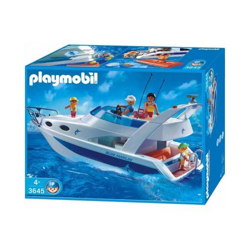 Playmobil lystbåd 3645 yacht blue marlin