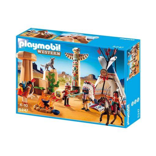 Playmobil indianerlejr 5247 western