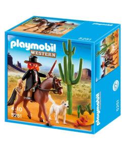Playmobil sherif med hest 5251 western