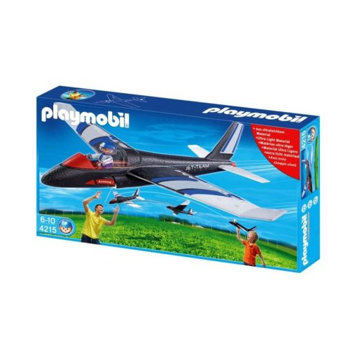 Playmobil svæveflyver 4215 sort
