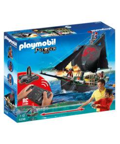 Fjernstyret Playmobil piratskib 5238 sørøverskib