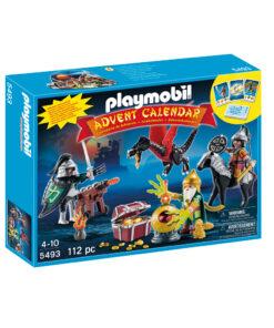 Se Playmobil julekalender 5493 drager og skattejagt