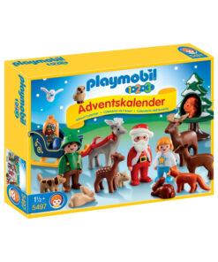 Playmobil pakkekalender og julekalender 5497 jul i skoven
