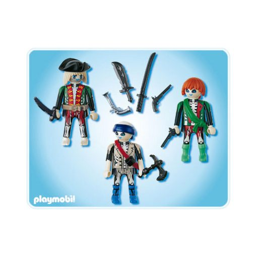 Selvlysende Playmobil pirater