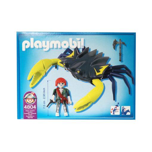 Playmobil kæmpekrabbe med spøgelsespirat