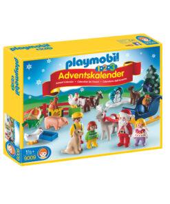 Playmobil pakkekalender og julekalender 9009 jul på landet