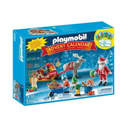 Playmobil julekalender 5494 julemandens værksted