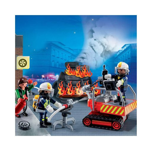Playmobil City Action Brandmand og redningsaktion 5495