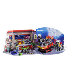 Playmobil 5495 pakkekalender brandmænd i redningsaktion