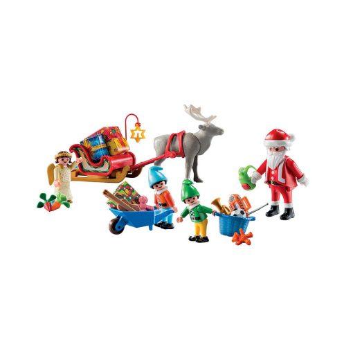 Playmobil pakkekalender 5494 julemandens værksted