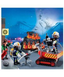 Playmobil City Action Brandmand og redningsaktion 5495
