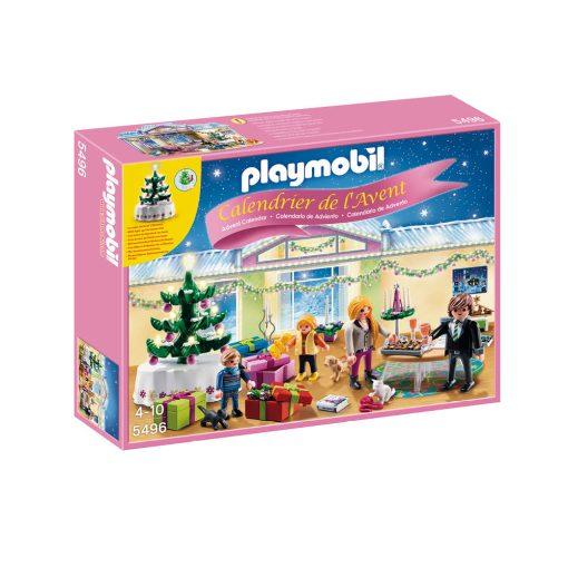 Playmobil julekalender 5496 jul i stue