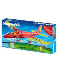 rød Playmobil svæveflyver 4214