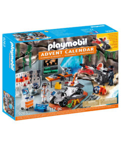 Playmobil Top Agents julekalender 9263 Spy Team værksted