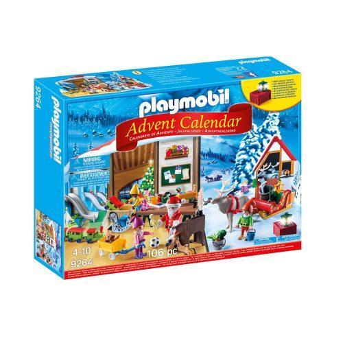 Playmobil julekalender Julemandens Værksted 9264