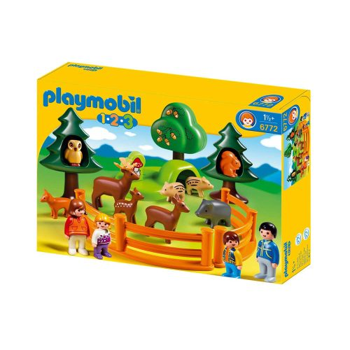 Playmobil 1-2-3 Besøg i dyreparken 6772