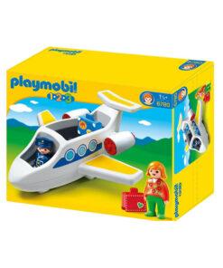 Playmobil 1-2-3 Flyvemaskine 6780