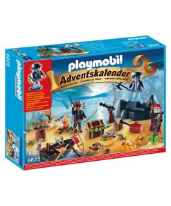 PLaymobil julekalender 6625 Pirat skatteøen