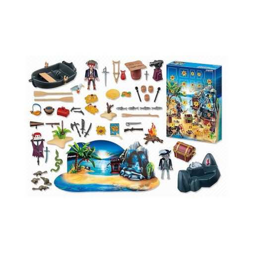 Playmobil pakkekalender 6625 pirat skatteøen