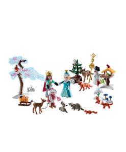Playmobil julekalender 9008 royalt skøjeløb