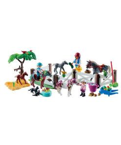 Playmobil julekalender 9262 ridecenter
