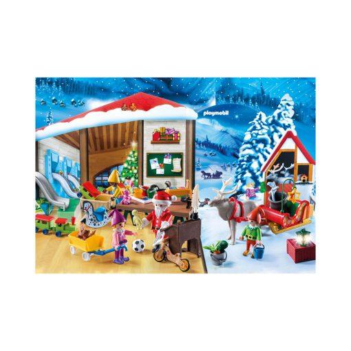 Playmobil Julekalender 9264 julemandens værksted