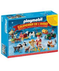 Playmobil julekalender 6624 jul på gården