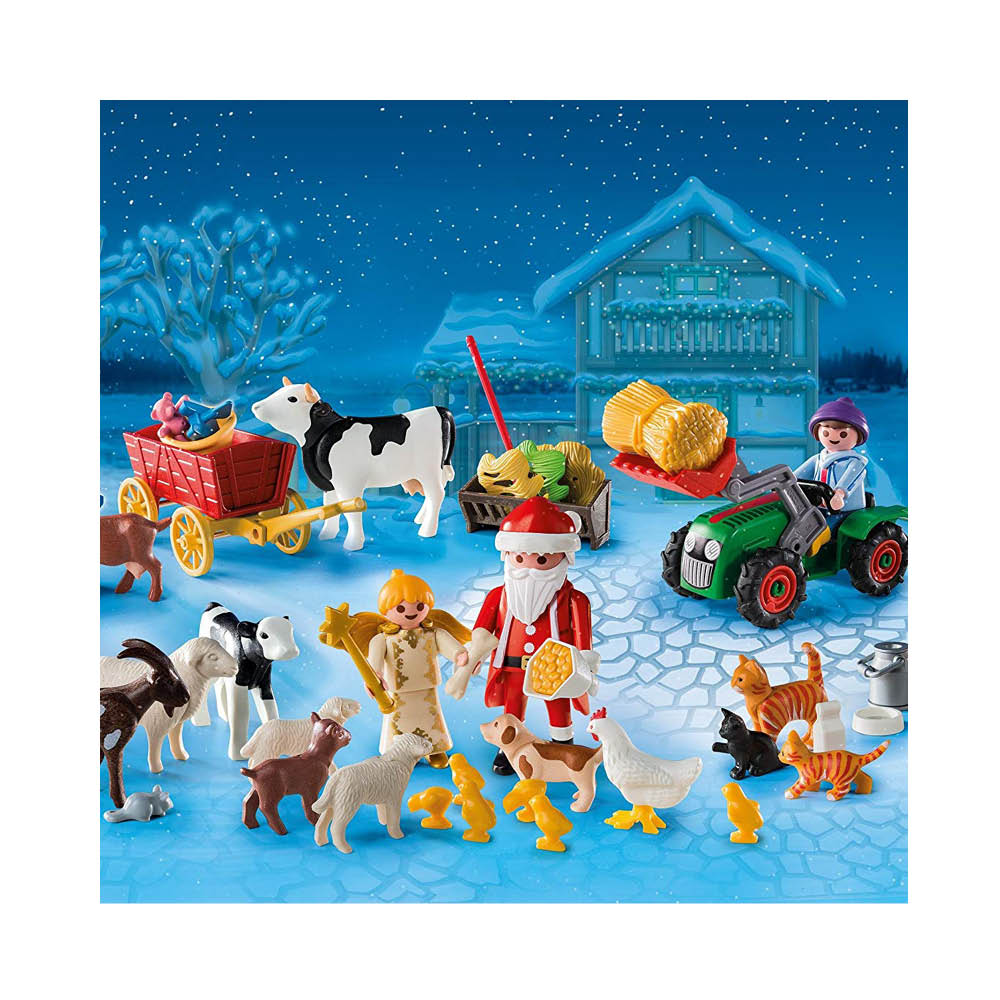 Playmobil Pakkekalender 6624 Jul på gården