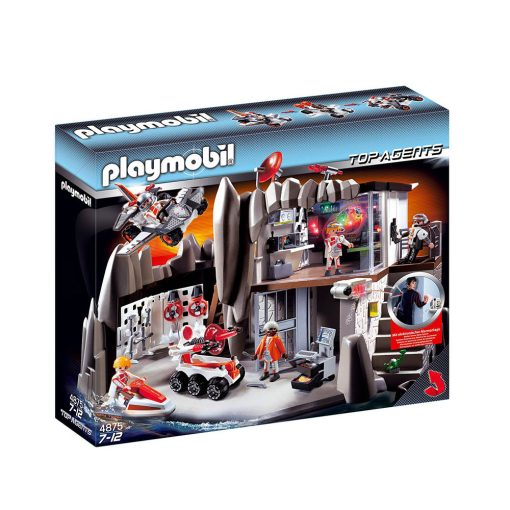 Playmobil Top Agents 4875 hovedkvarter