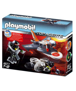 Playmobil Top agents 4877 Detektor Jetflyver