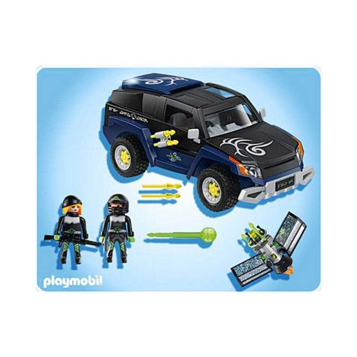 Playmobil Top Agents 4878 Robo Gangsters Jeep