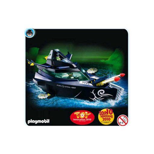 Playmobil Top Agents 4882 Robo Gangsters kampbåd