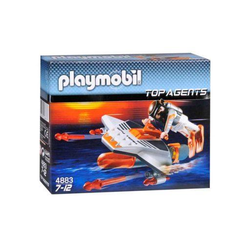 Playmobil Top Agents Torpedodykker 4883