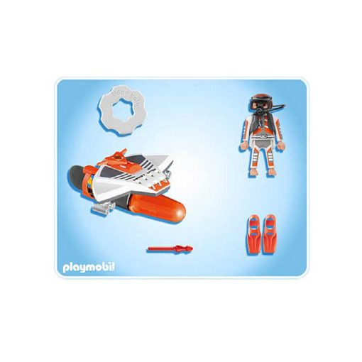Playmobil Top Agents 4883 Torpedo Dykker