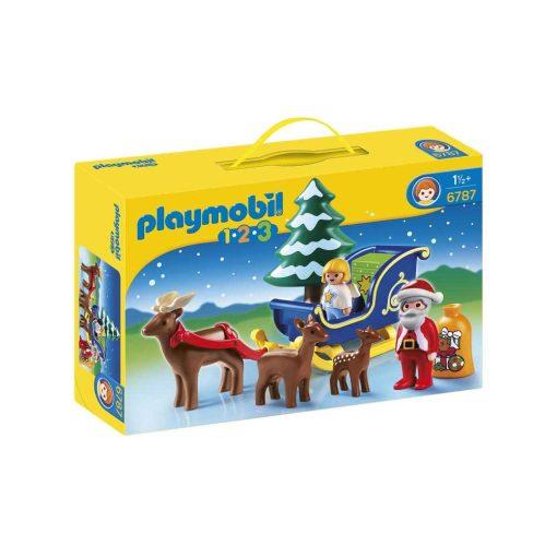 Playmobil julemand og rensdyr 6787