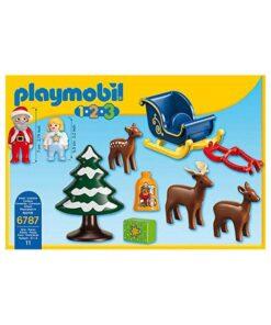 Playmobil julemand rensdyr bagside 6787