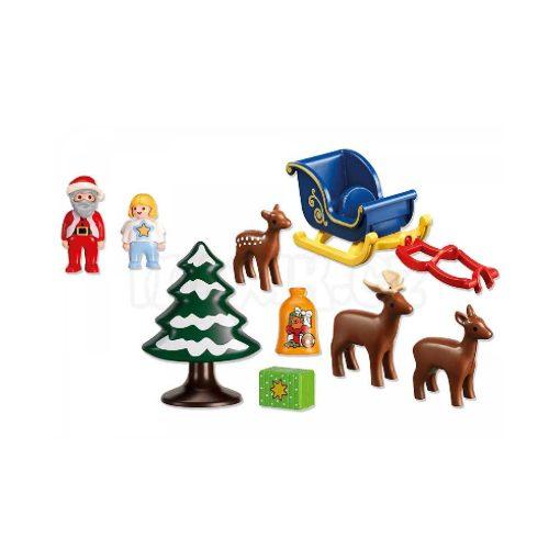 Playmobil julemand rensdyr indhold 6787