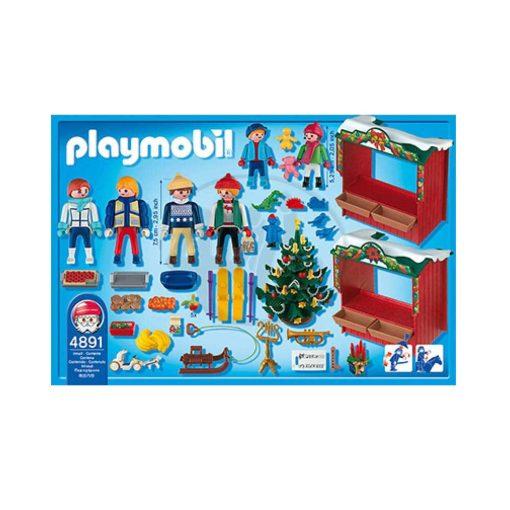 Playmobil julemarked 4891 bagside