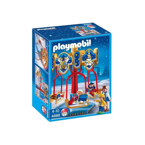 Playmobil Karrusel med slæder 4888 æske