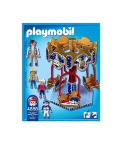 Playmobil Karrusel med slæder 4888 bagside