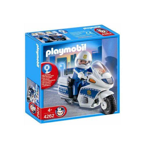Playmobil politimotorcykel 4262