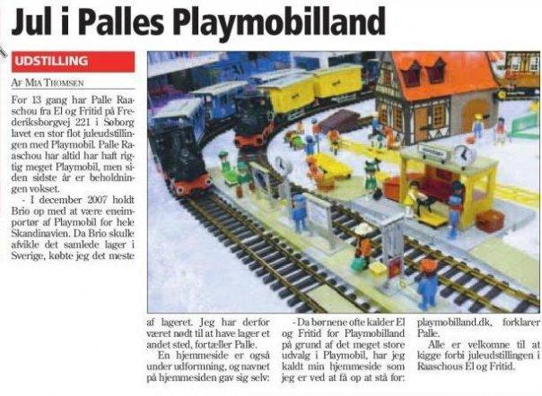 Historien om Playmobilland avisudklip 2