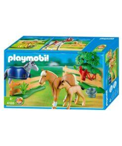 Playmobil Country Heste på eng kasse