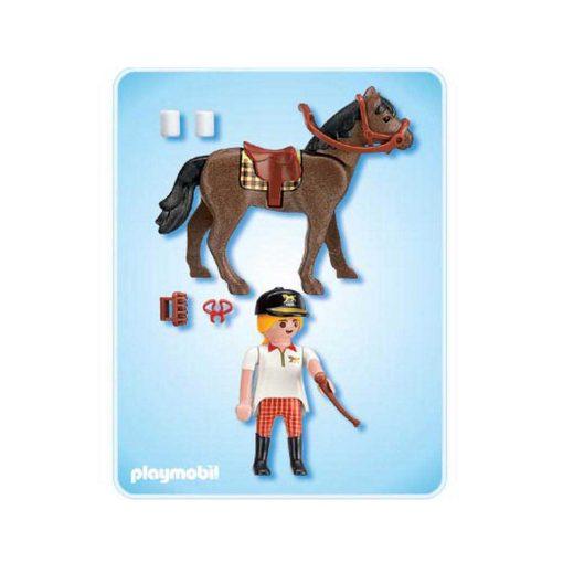 Playmobil Country rytter med hest 4191 bagside