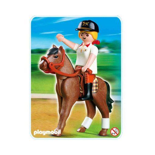 Playmobil Country rytter med hest 4191 forside