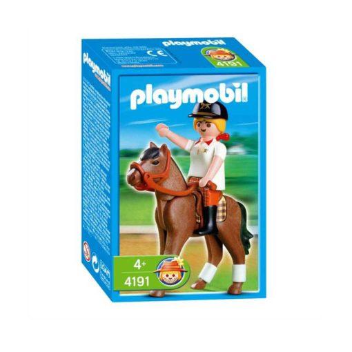 Playmobil Country rytter med hest 4191 boks