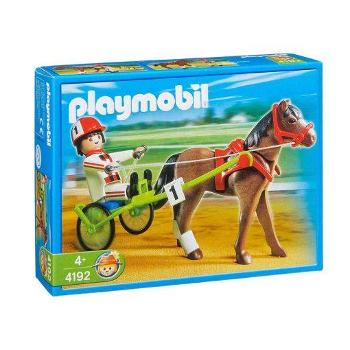 Playmobil Country travhest med sulky kasse
