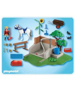Playmobil Country 4193 hestevask indhold