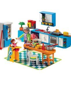 Playmobil dukkehus 5329 Køkken eksempel