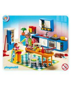 Playmobil dukkehus 5329 Køkken indhold